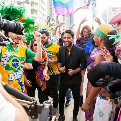 הופעה ברזילאית עם דודו אהרון